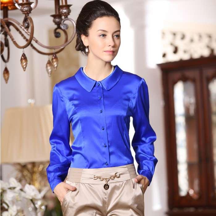 Блузки Из Шелка Фото