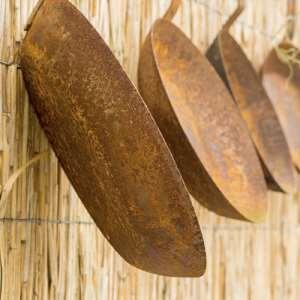 очищение сковороды от нагара ржавчины и жира