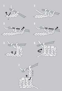 амигуруми двойной крючок схема