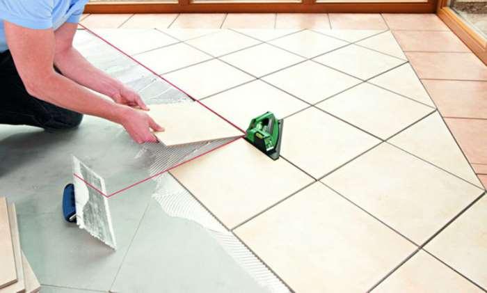 Укладка плитки в ванной технология
